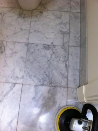 marble tile grinding