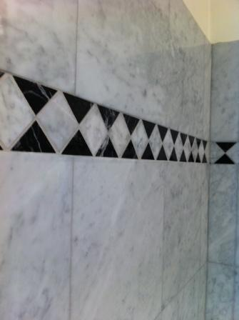 marble tile befor cleaning melbourne